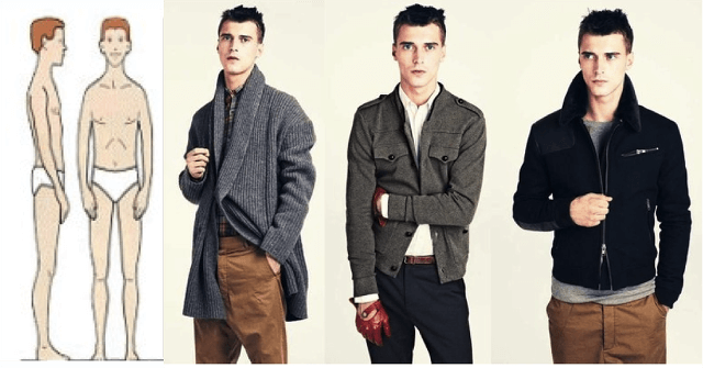 Tips For Men On How To Dress For Their Body Shape The Fashion Room