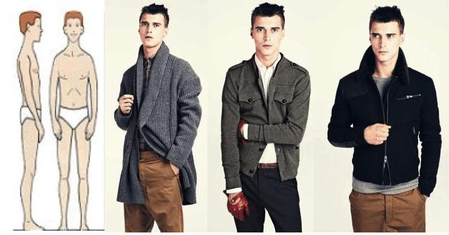 Cómo vestir cuerpo ectomorfo hombre